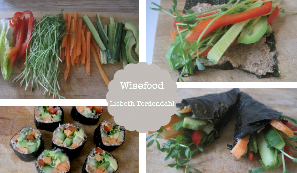 Nori wraps – pak grøntsagerne i nori