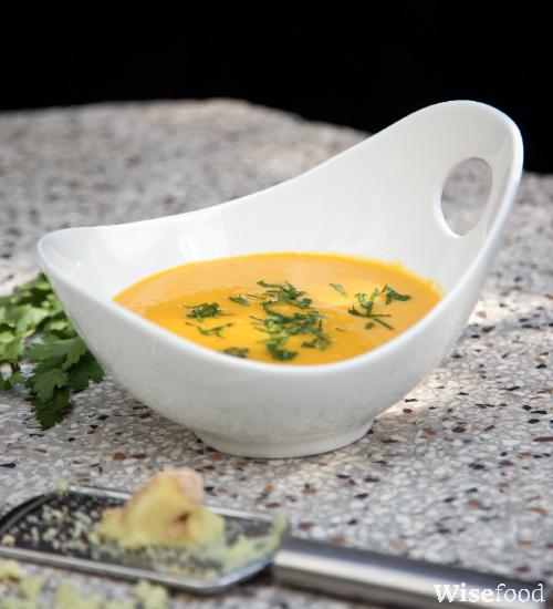 Suppe med ingefær