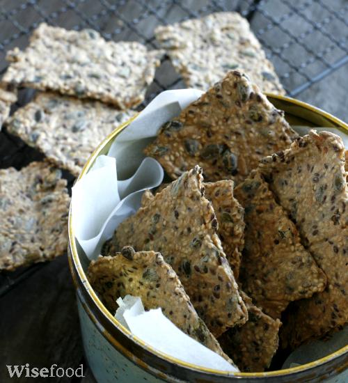 Kerne knækbrød med rug eller glutenfri