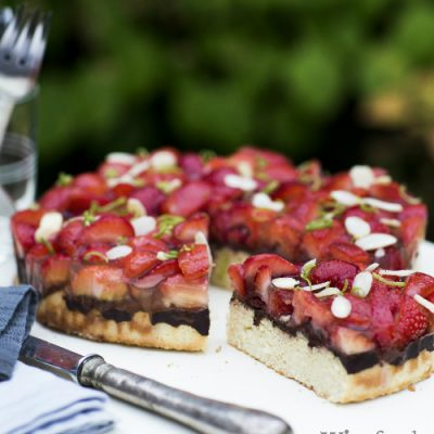 Jordbærkage – glutenfri