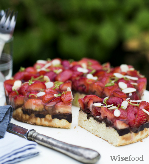 Glutenfri tærte af Lisbeth Tordendahl
