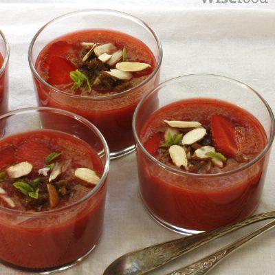 Dessert gazpacho – forfriskende sommerdessert