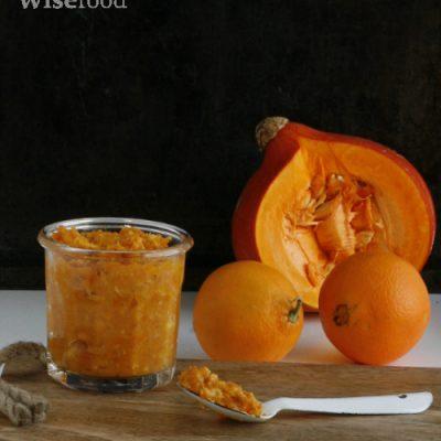 Appelsinmarmelade med græskar