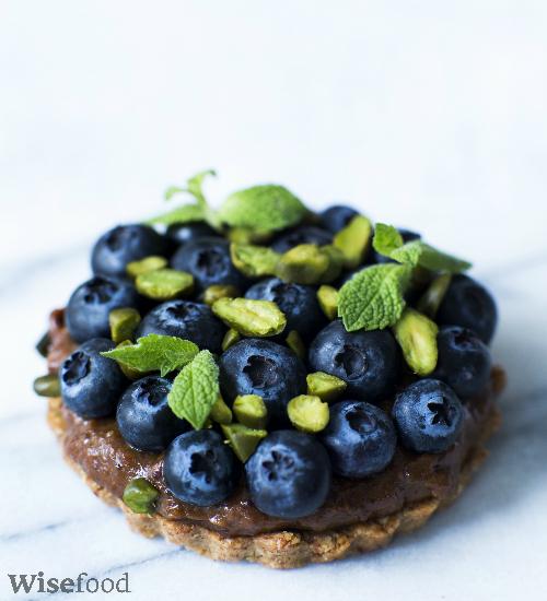 Kager med sveskecreme og blåbær opskrift glutenfri