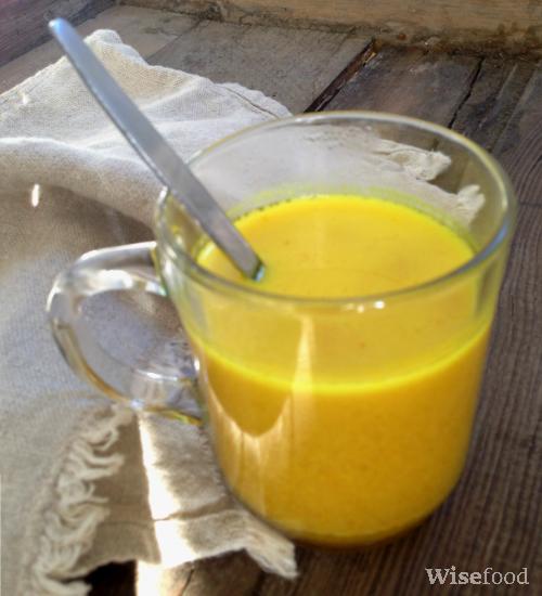 golden milk antiinflammatorisk drik opskrift