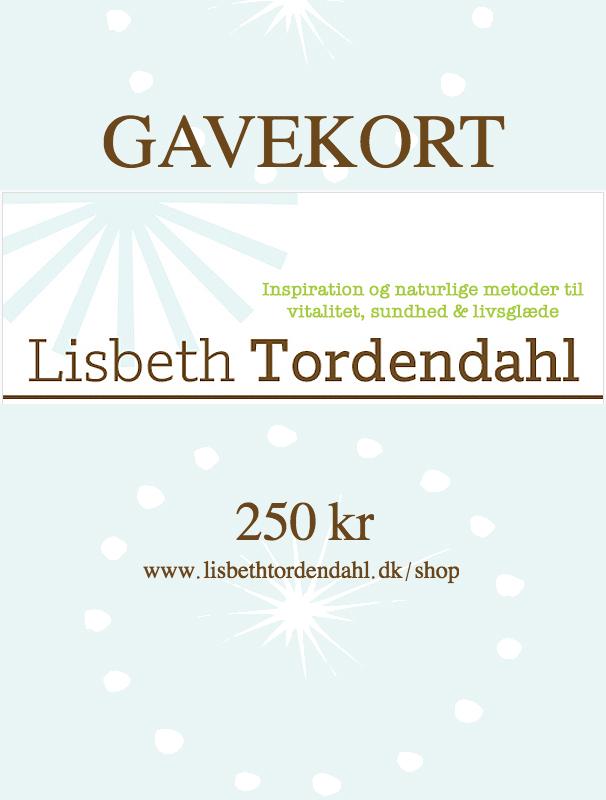 Gavekort Lisbeth Tordendahl