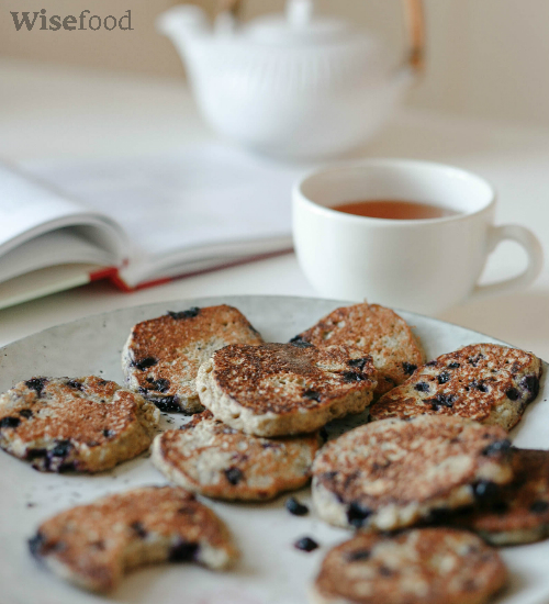 Blåbær pandekager med quinoa