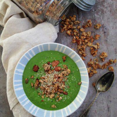 Greenie med persille og chiafrø