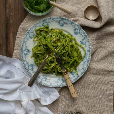 Grønkålspesto – fra Kål og Kærlighed