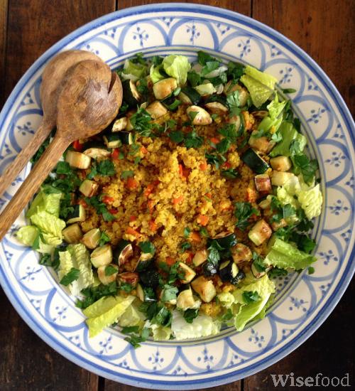 Quinoa pilaf – dejlig måde at bruge quinoa på