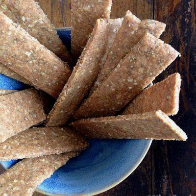 Rosmarinstænger – sprøde og glutenfri
