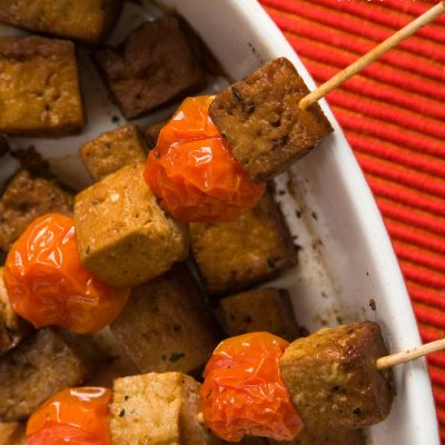 Marineret tofu – ovnbagt og lækker
