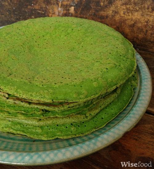 Spinatpandekager - grønne madpandekager