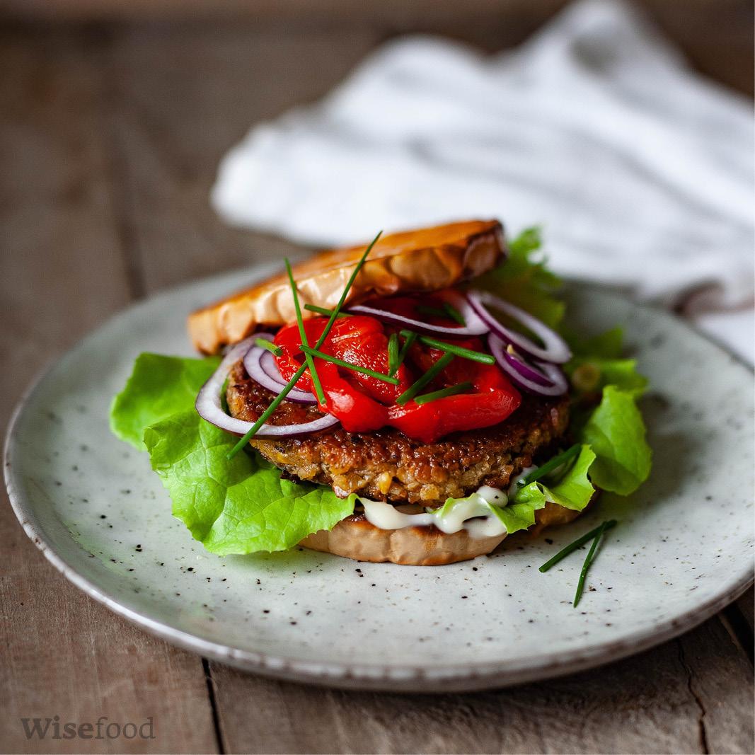 Sandwich af butternut squash