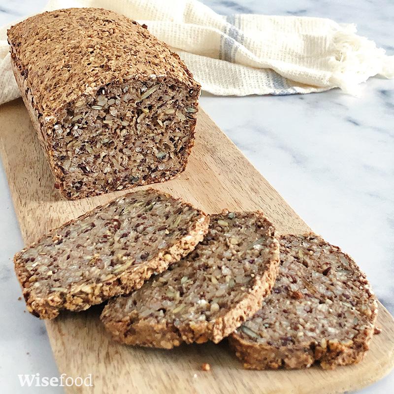 Boghvedebrød med kerner – glutenfrit