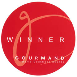 Prisvinder Gourmand World Cookbook Award